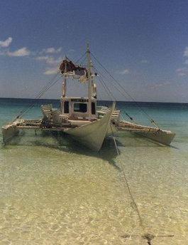 Banca- a local pumpboat