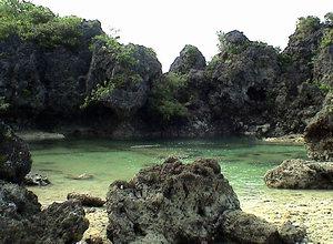 Paguriran lagoon, sawanga